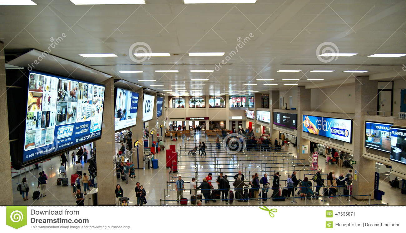 Malta Lotniskowy Międzynarodowy Terminal