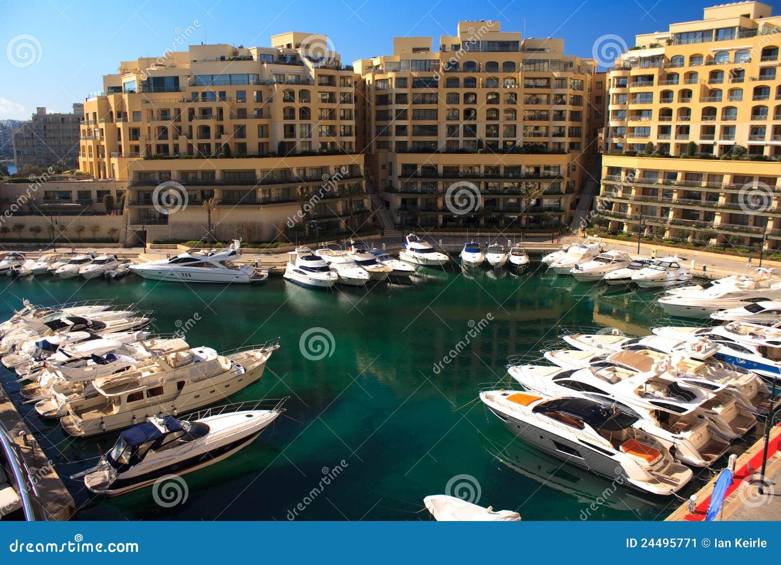 Malta marina St Julians