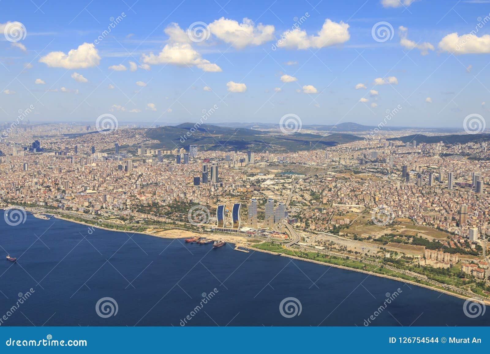 Maltepe And Kartal Part Asian Side Of Istanbul Turkey Stock Photo