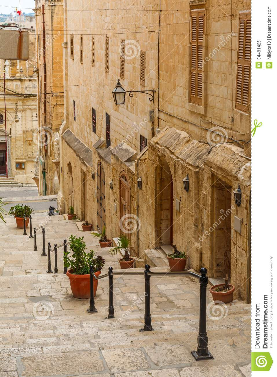 malta old alley houses - photo #44