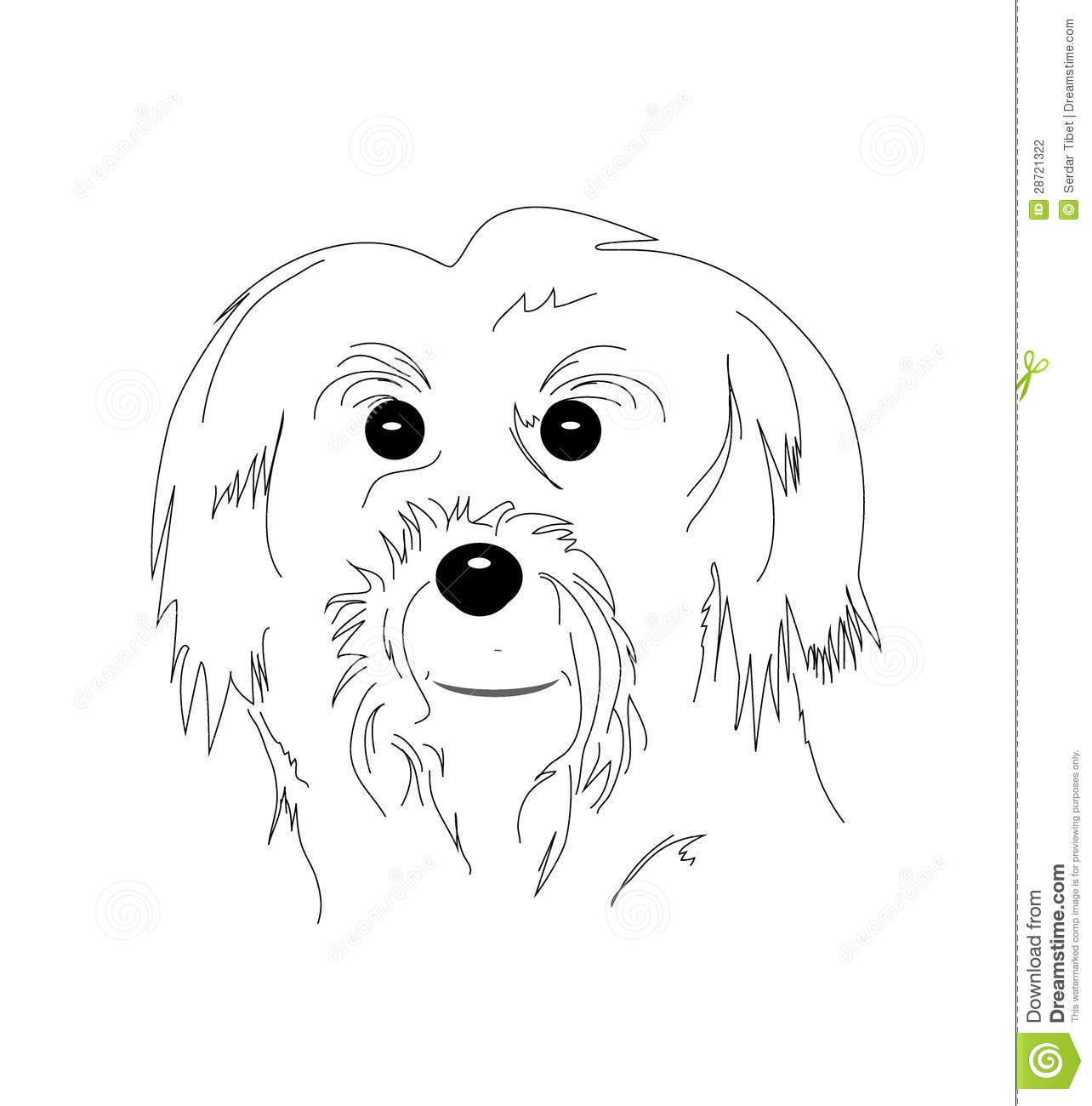 maltese dog clipart - photo #30