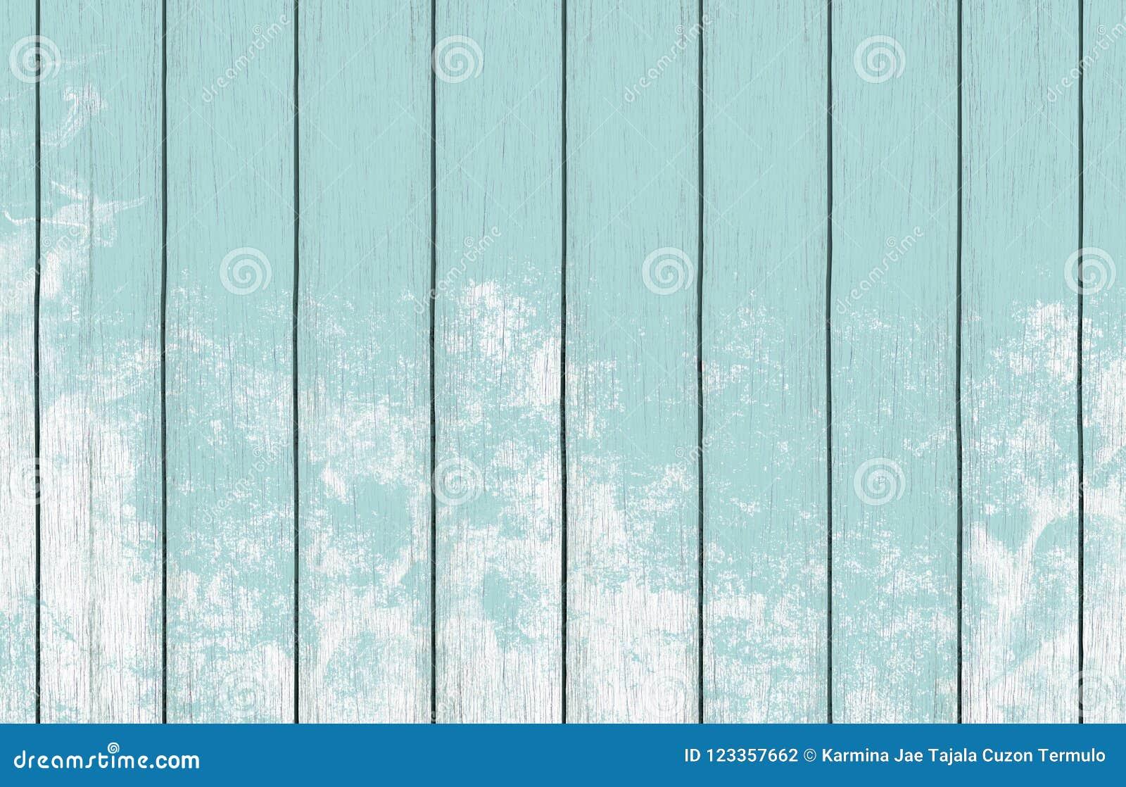Malująca drewniana tło tapeta z bławą kolor farbą