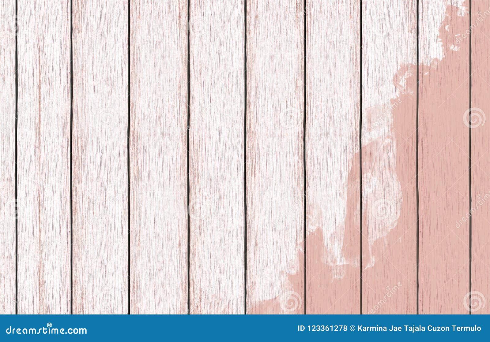 Malująca drewniana tło tapeta z kolor farbą