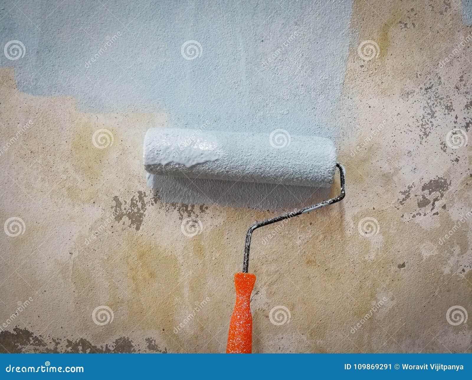 Malująca rolownik ściana