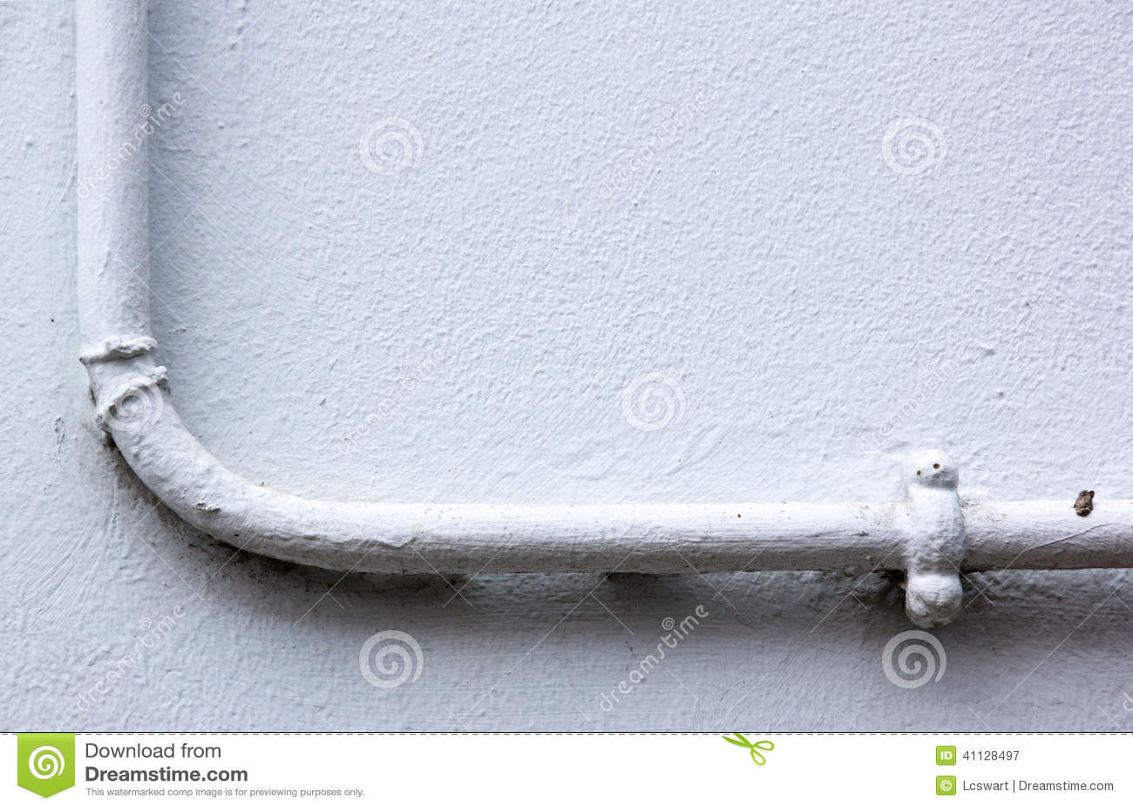 Malująca Wodna drymba Wspinająca się na Gipsującej ścianie