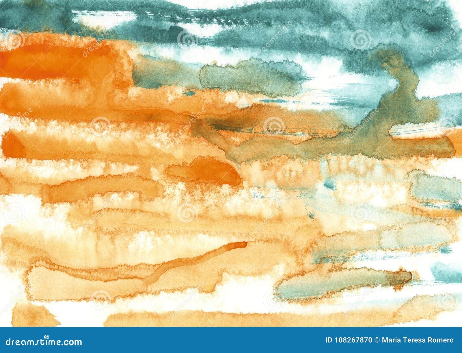 Maluje, koloru tło, akwarela, abstrakcjonistyczny obrazu koloru tex