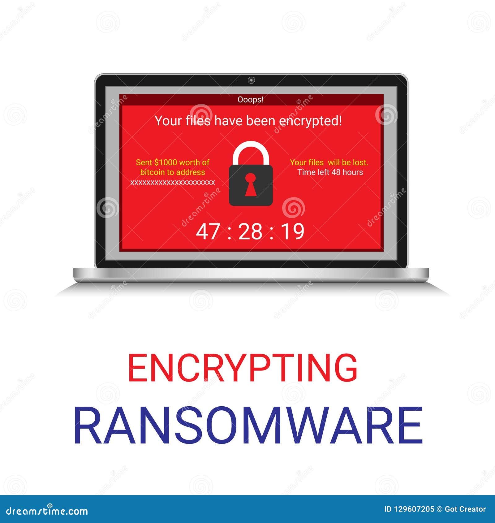 Malware cifrou o arquivo no computador, Ransomware