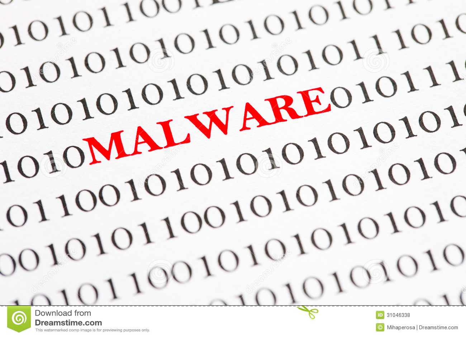 Malware en código binario