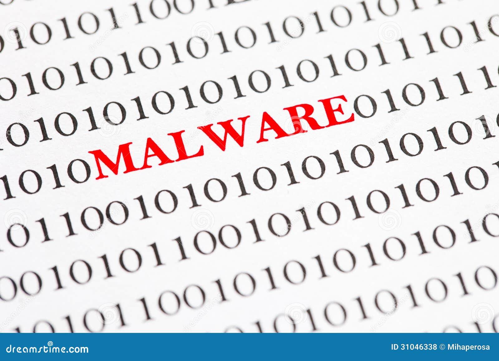 Malware no código binário