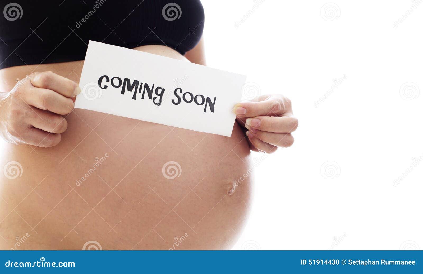 Mama czeka nowego życie przychodzi wkrótce