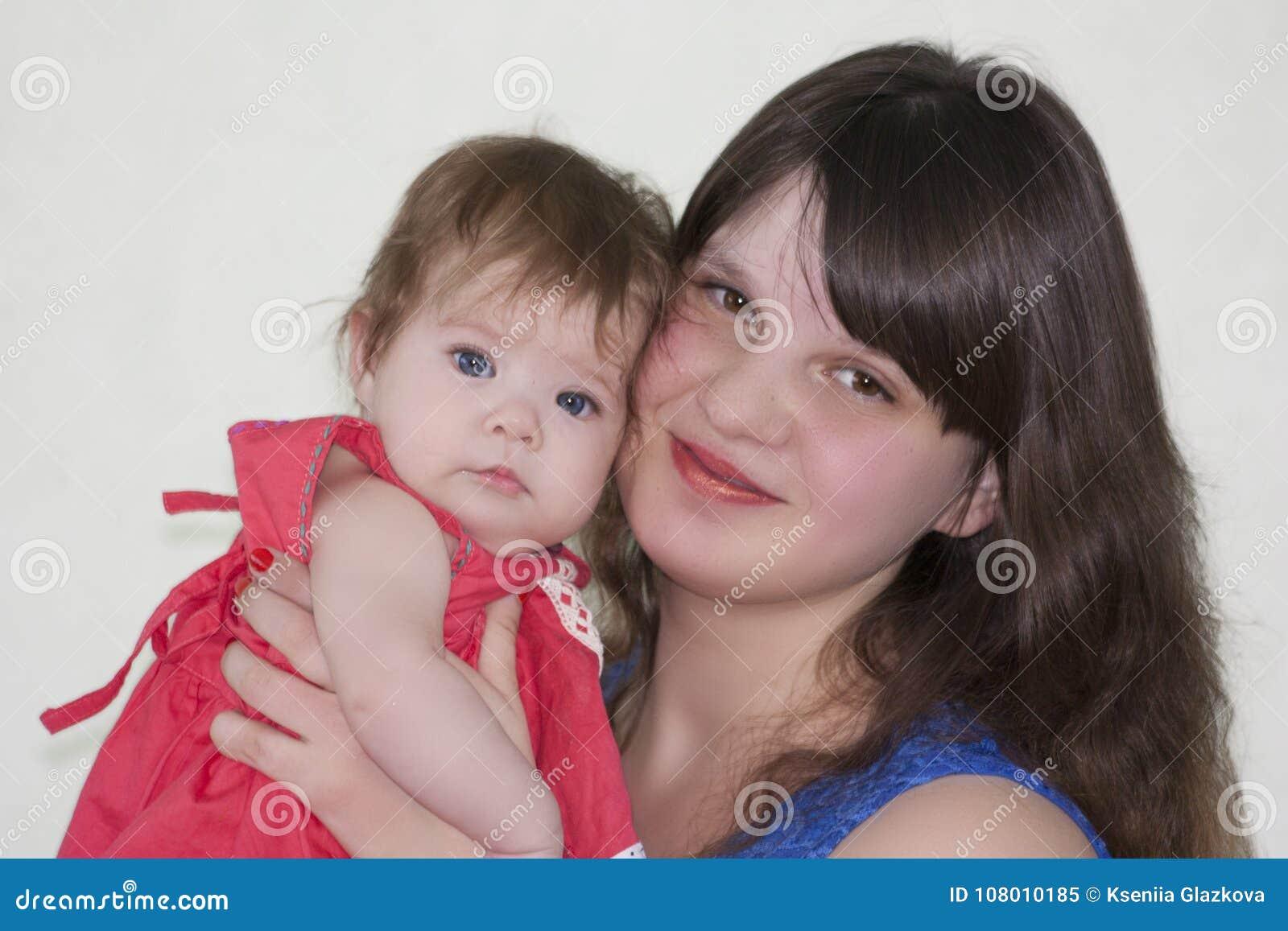 Mama y bebé Foto para su