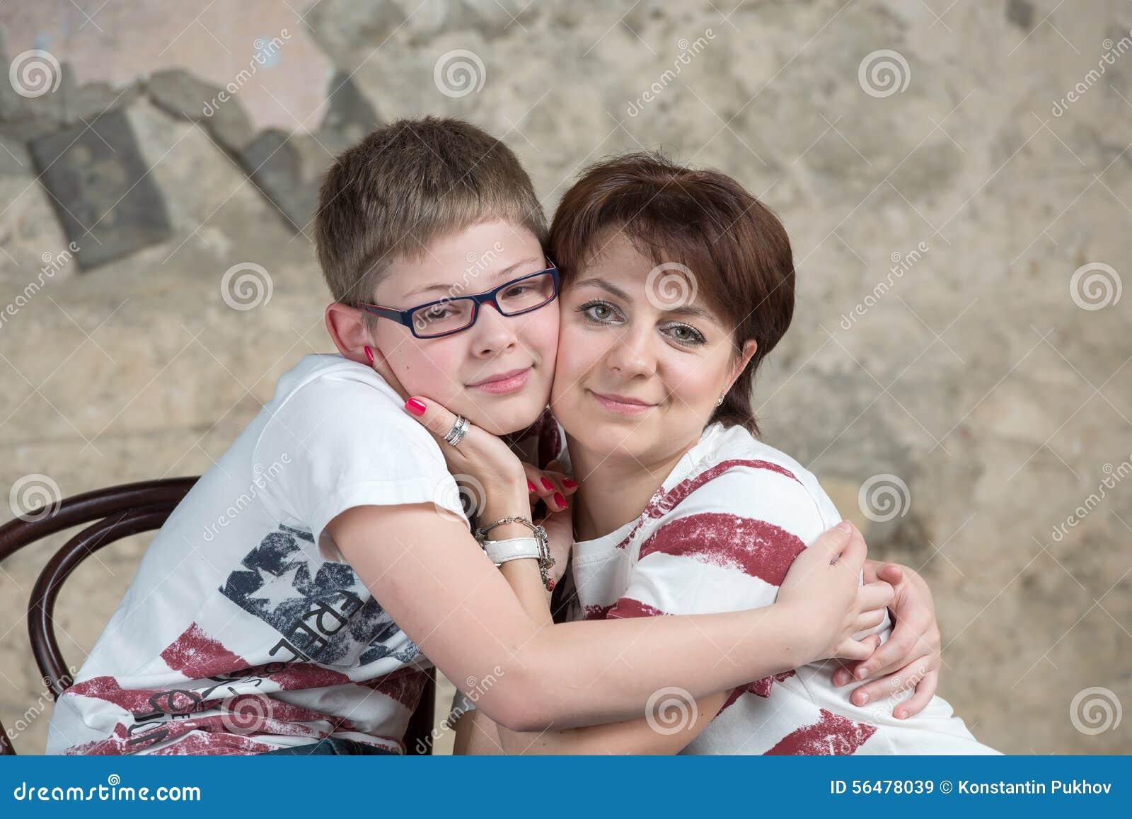 Maman et fils