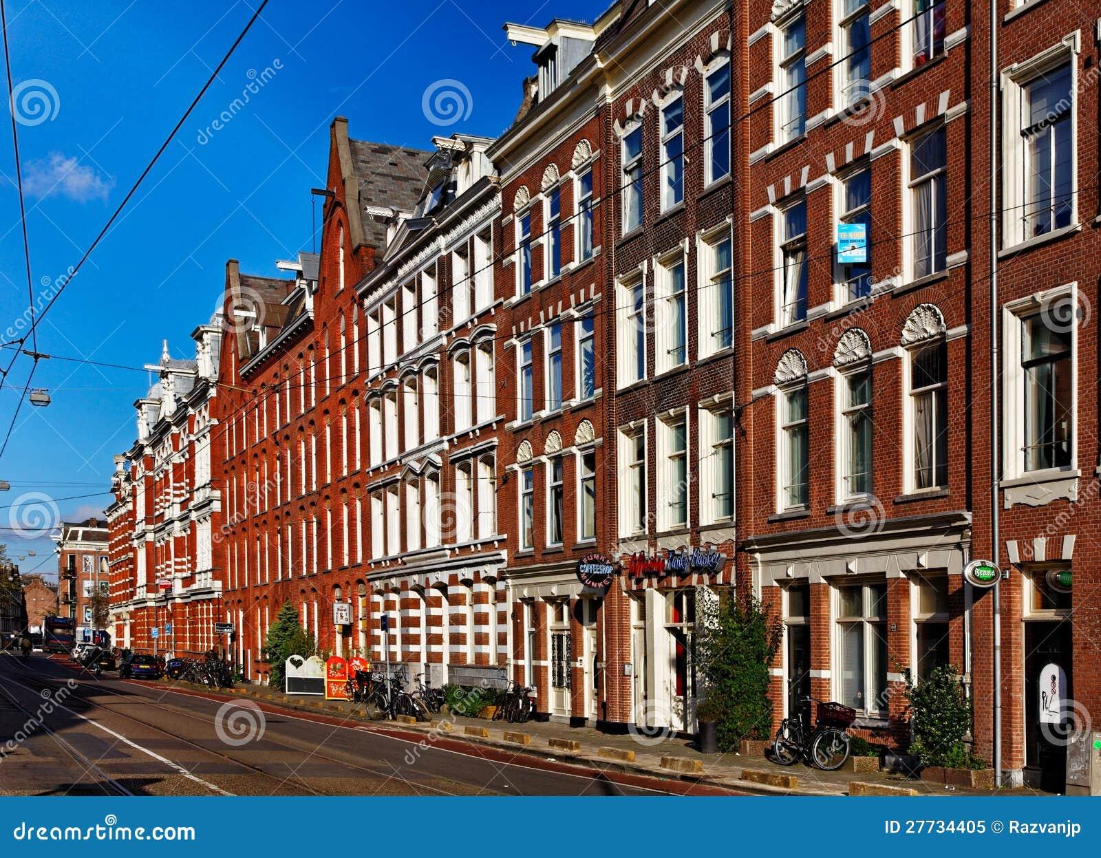 Mamixstraat a amsterdam immagine editoriale immagine di for Architettura olandese