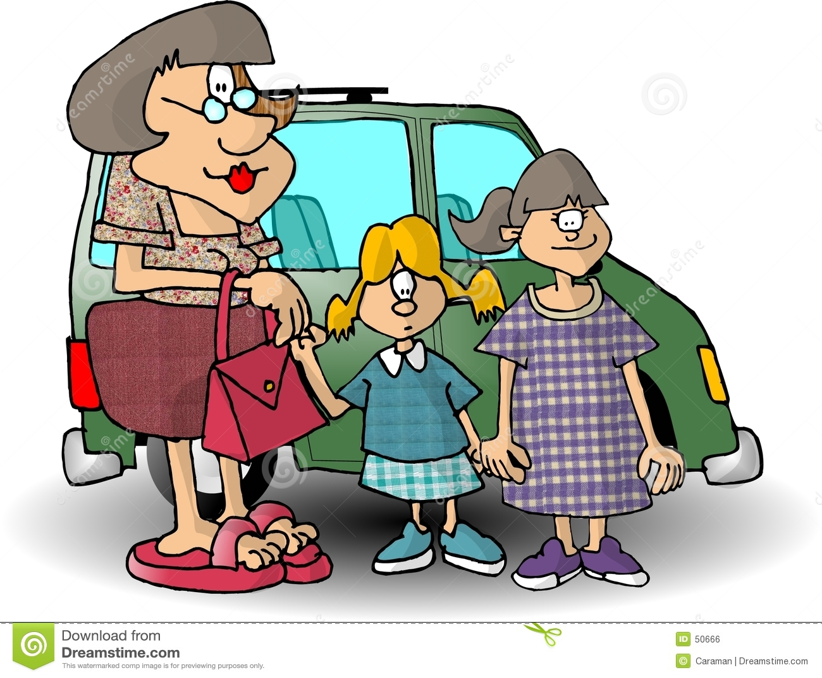 Mamma e due figlie