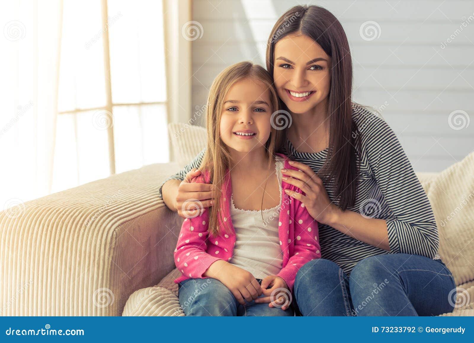 Mamma en dochter