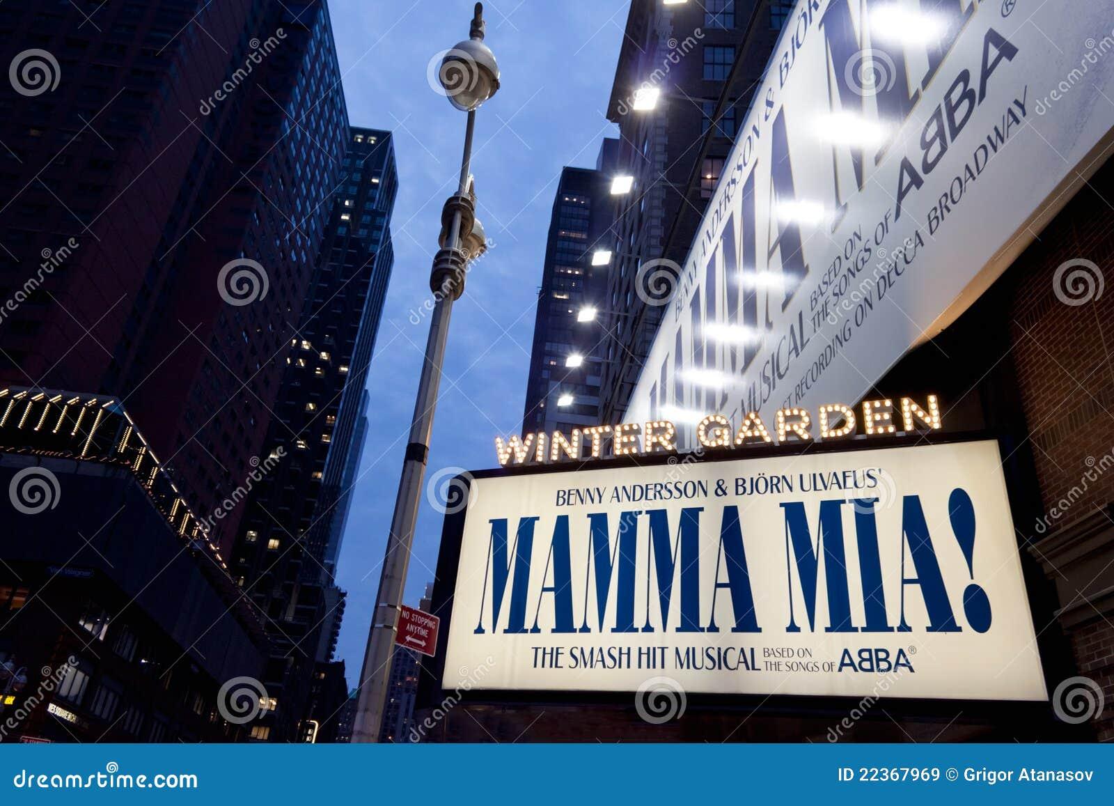 Mamma Mia em Broadway