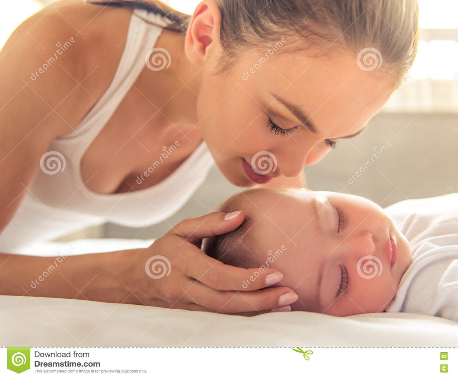 Mamma und Schätzchen