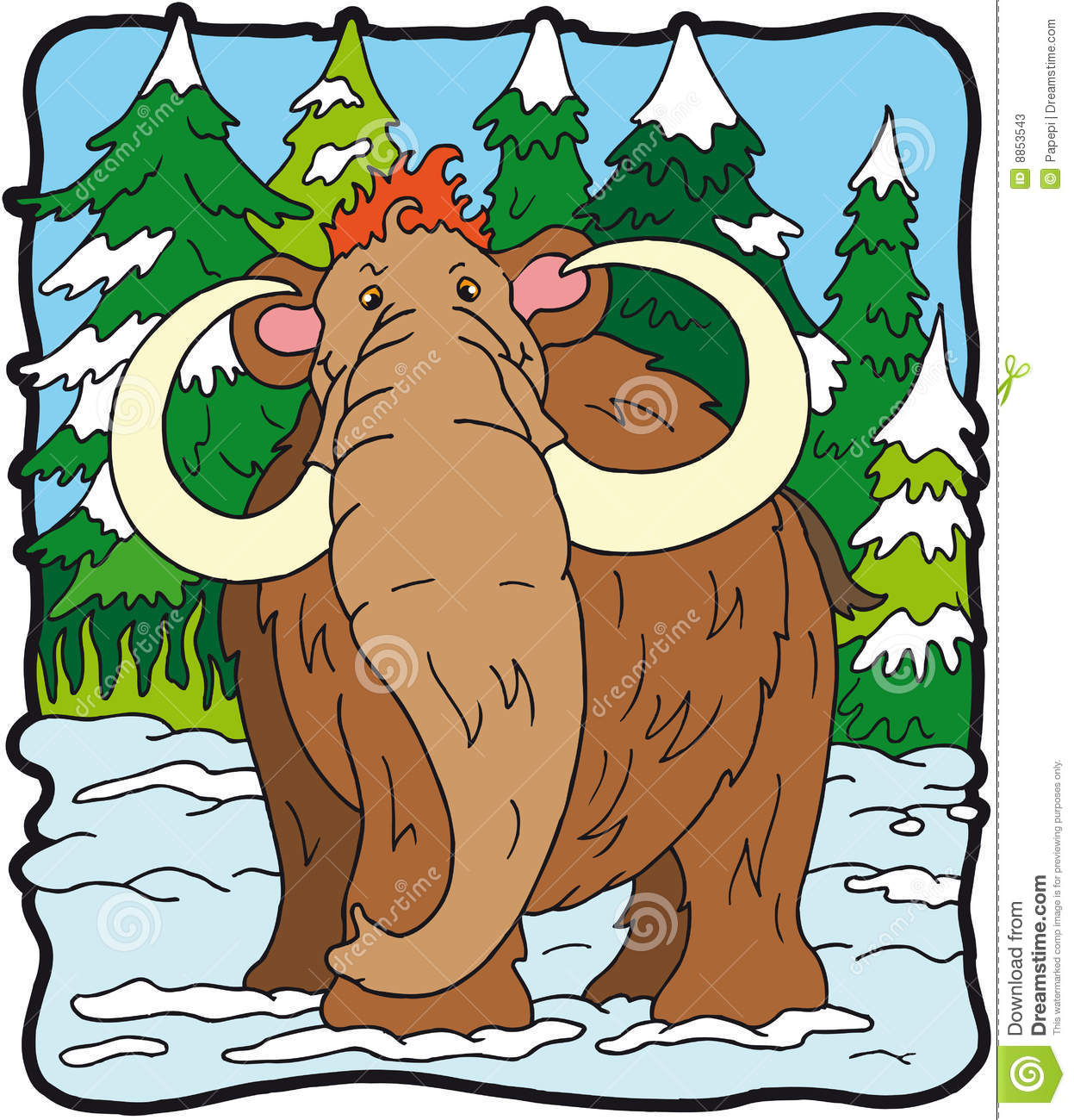 Mammoth do dinossauro