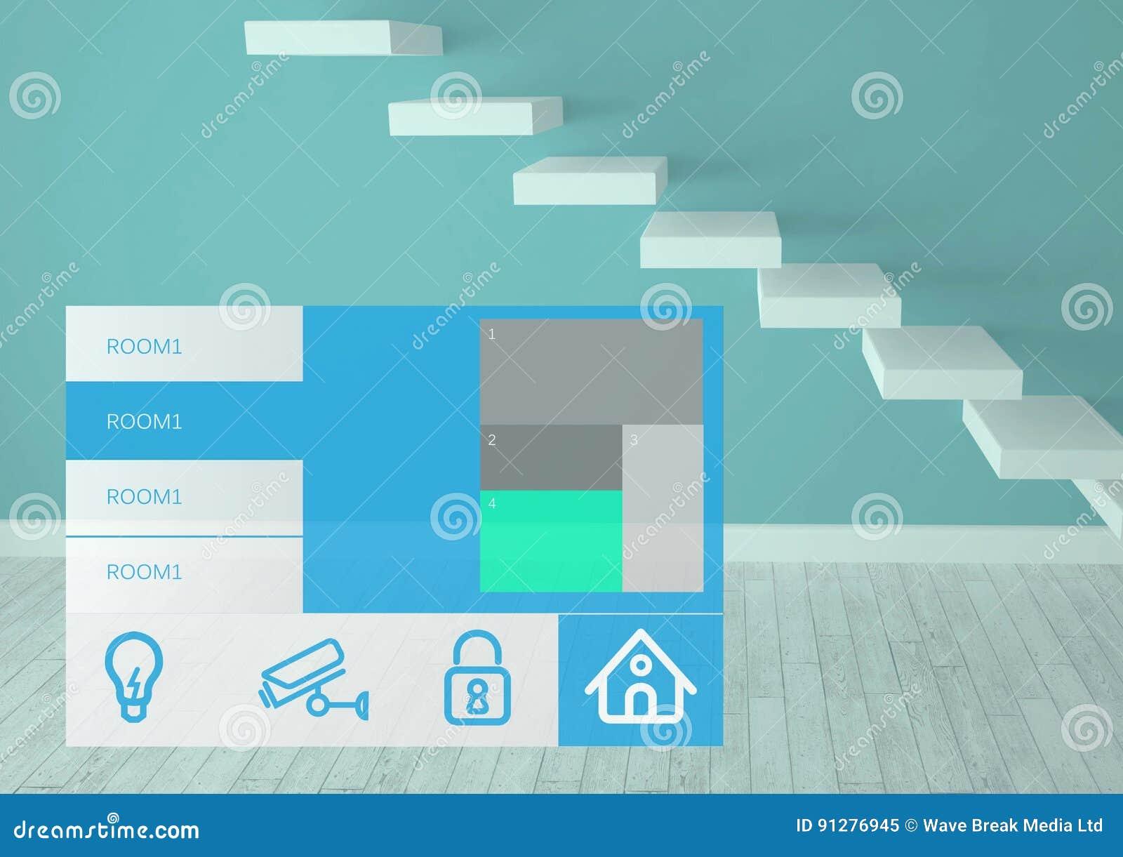Manöverenhet för system App för hem- automation