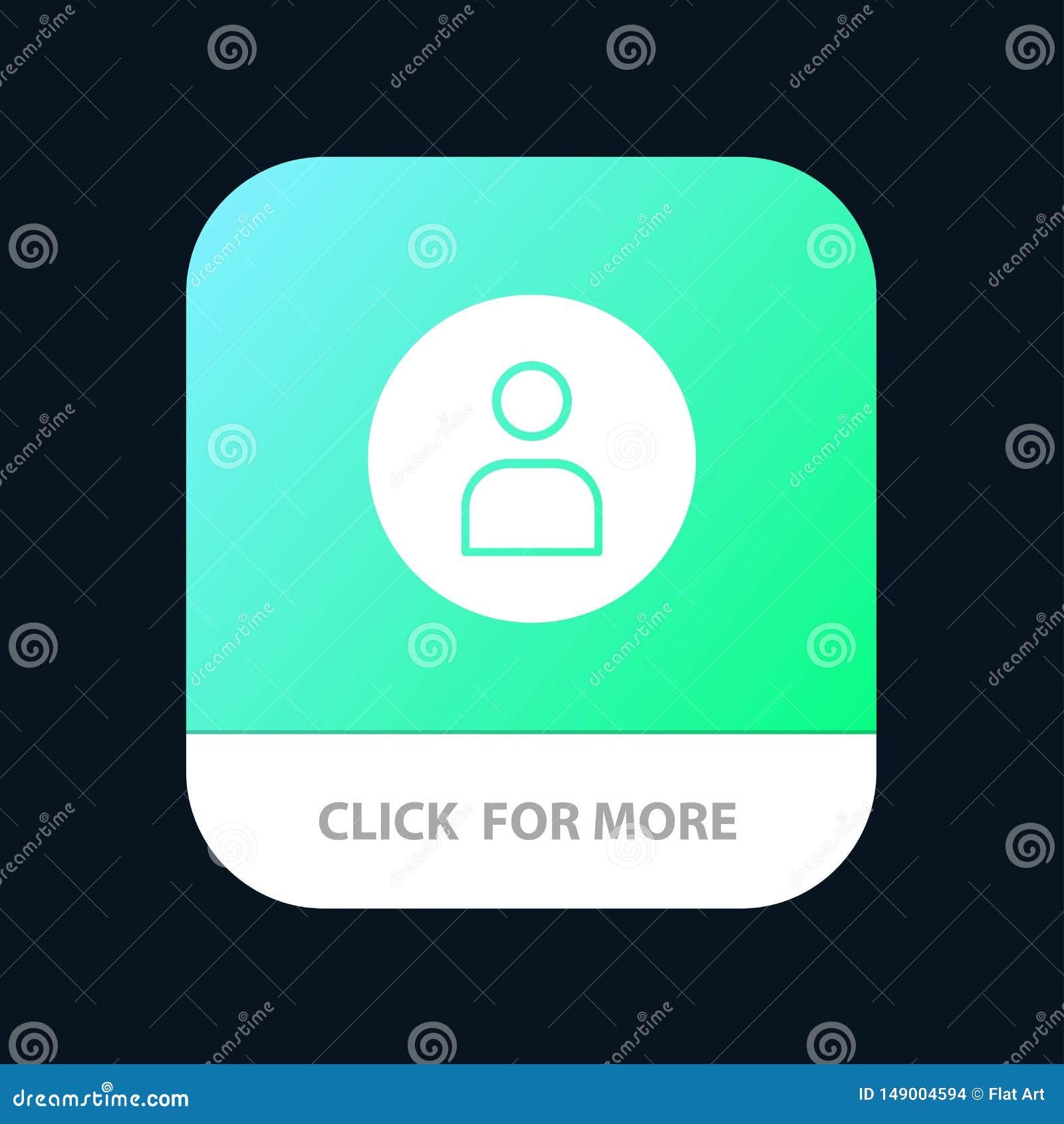 Man arbetare som är grundläggande, Ui mobil Appknapp Android och IOS-skåraversion