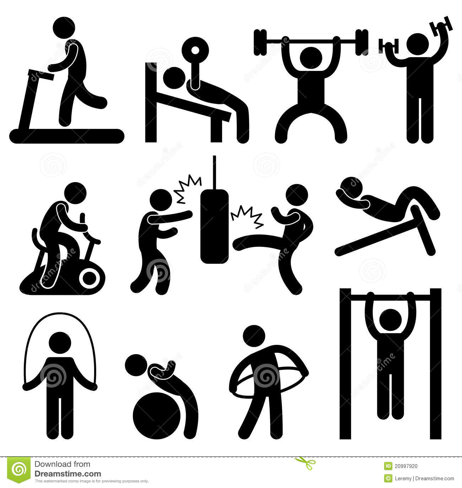 man athletic gym gymnasium body exercise workout p stock