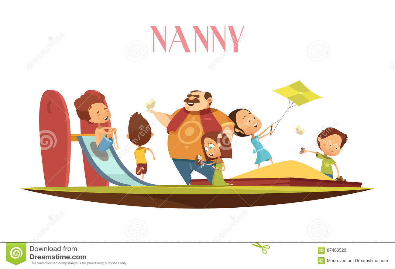 babysitter cartoons  illustrations  u0026 vector stock images