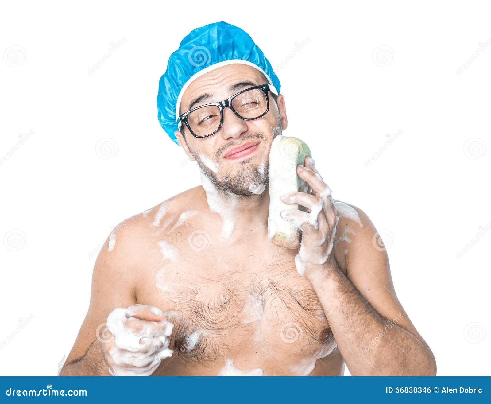 Man bathing cumshot photo 61