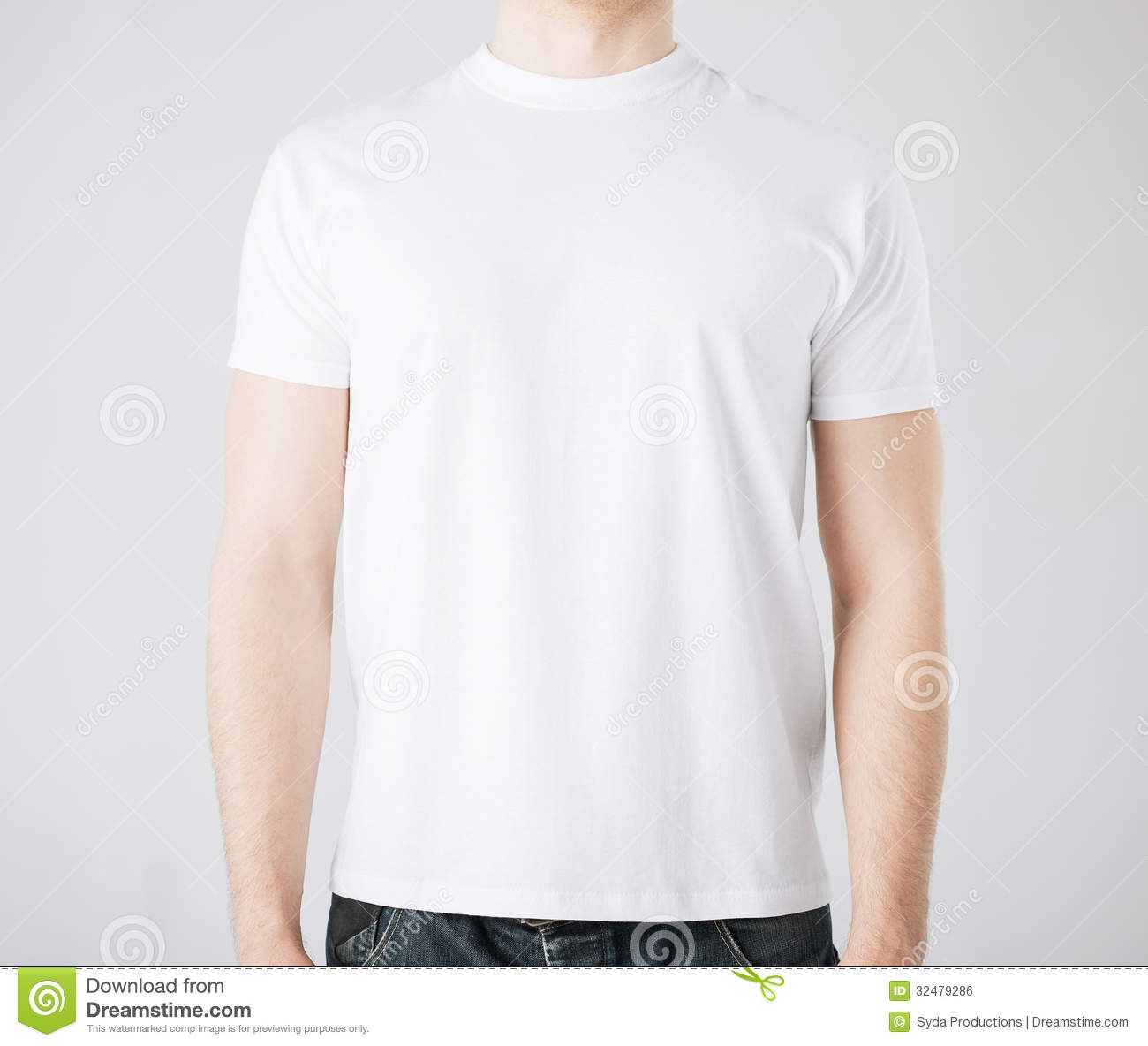 man in blank t shirt stock photo image of human