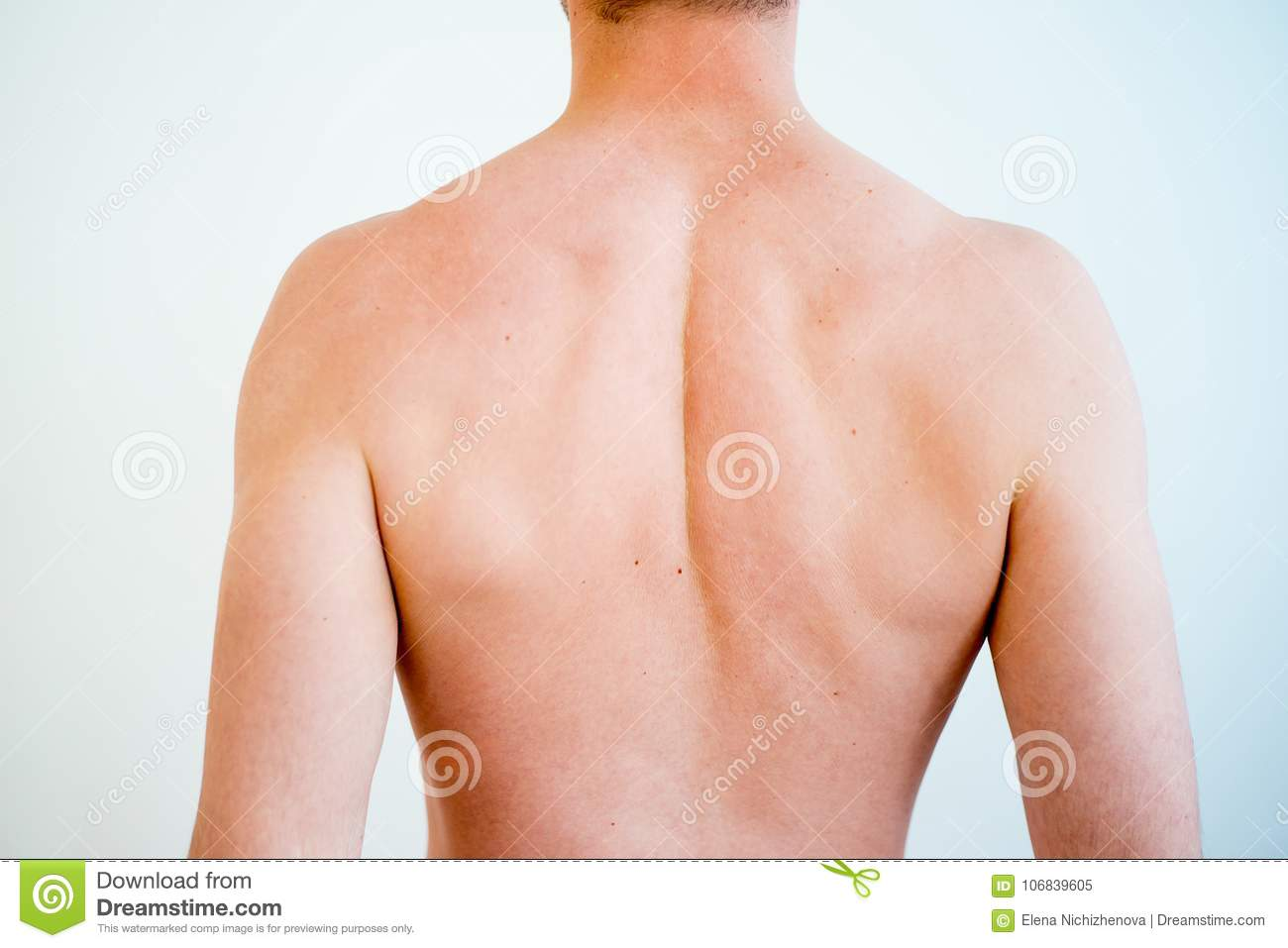 Man Body Parts Stock Image Image Of Muscle Caucasian 106839605