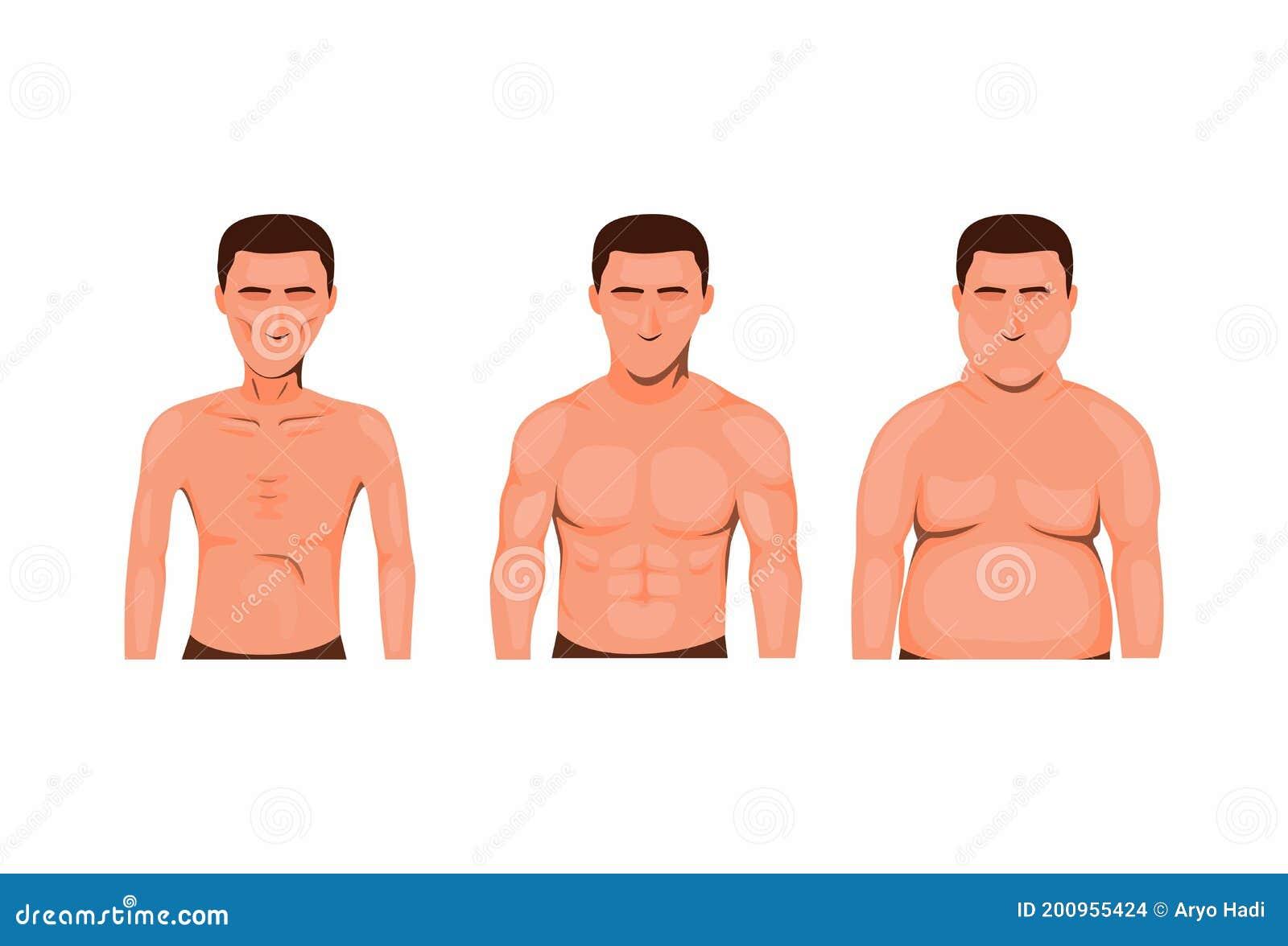 Men skinny fat How to