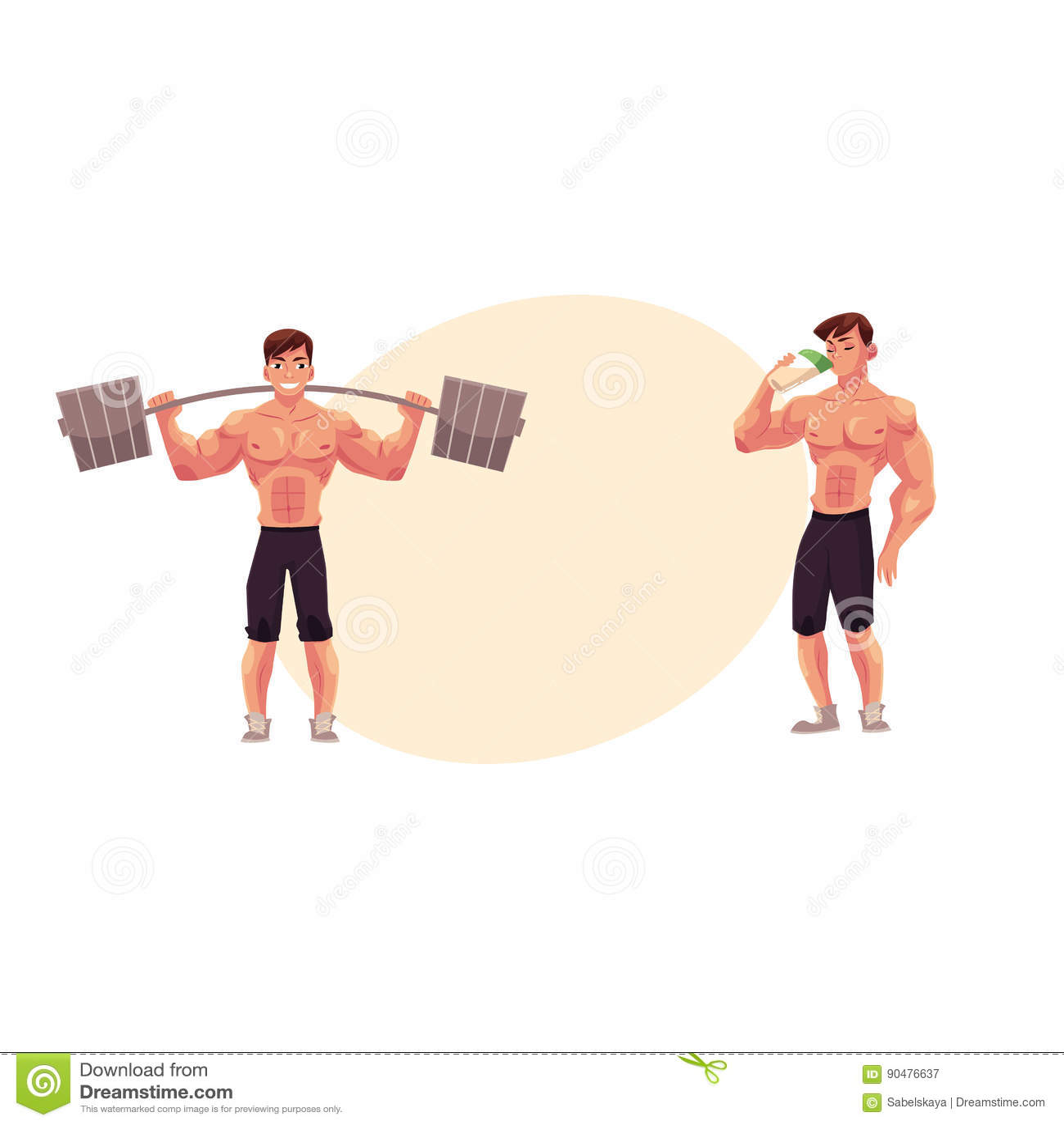 proteinshake träning