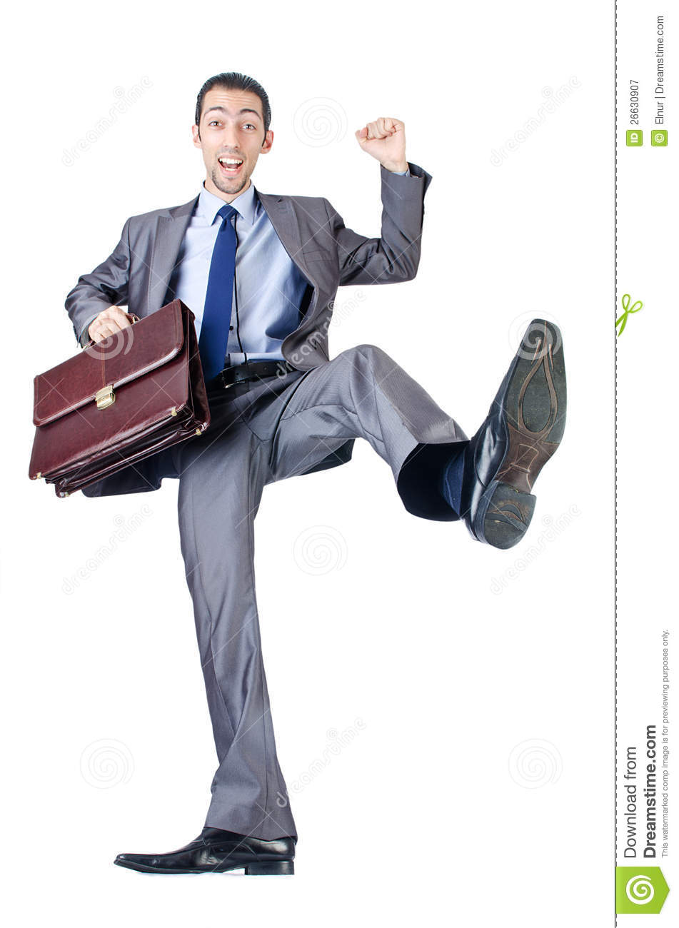 Man With Briefcase Royalty Free Stock Photography - Image: 26630907