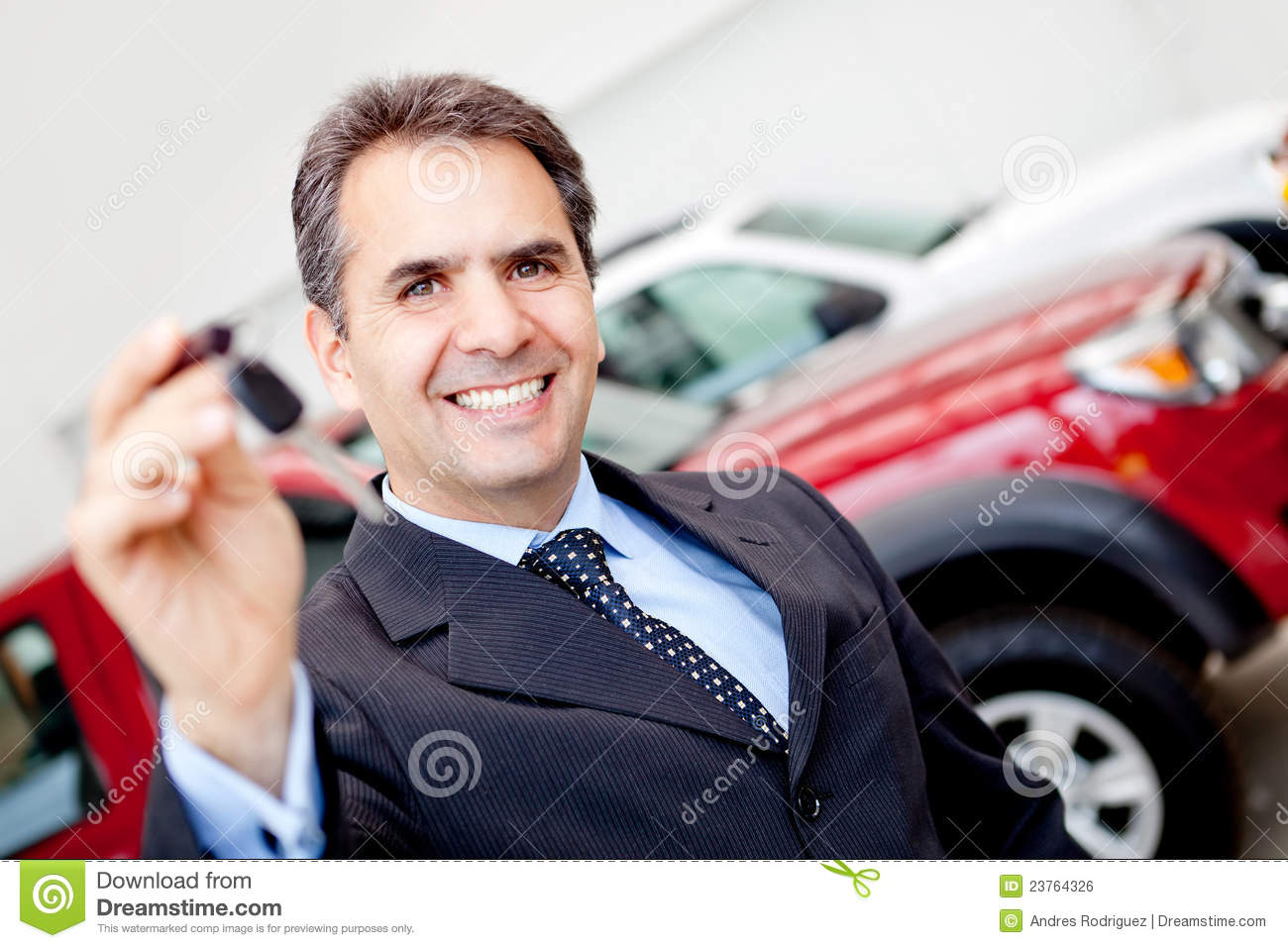 Expensive Car For Sale Or Gift Royalty Free Stock Image: Man Buying A Car Stock Photo. Image Of People, Retail