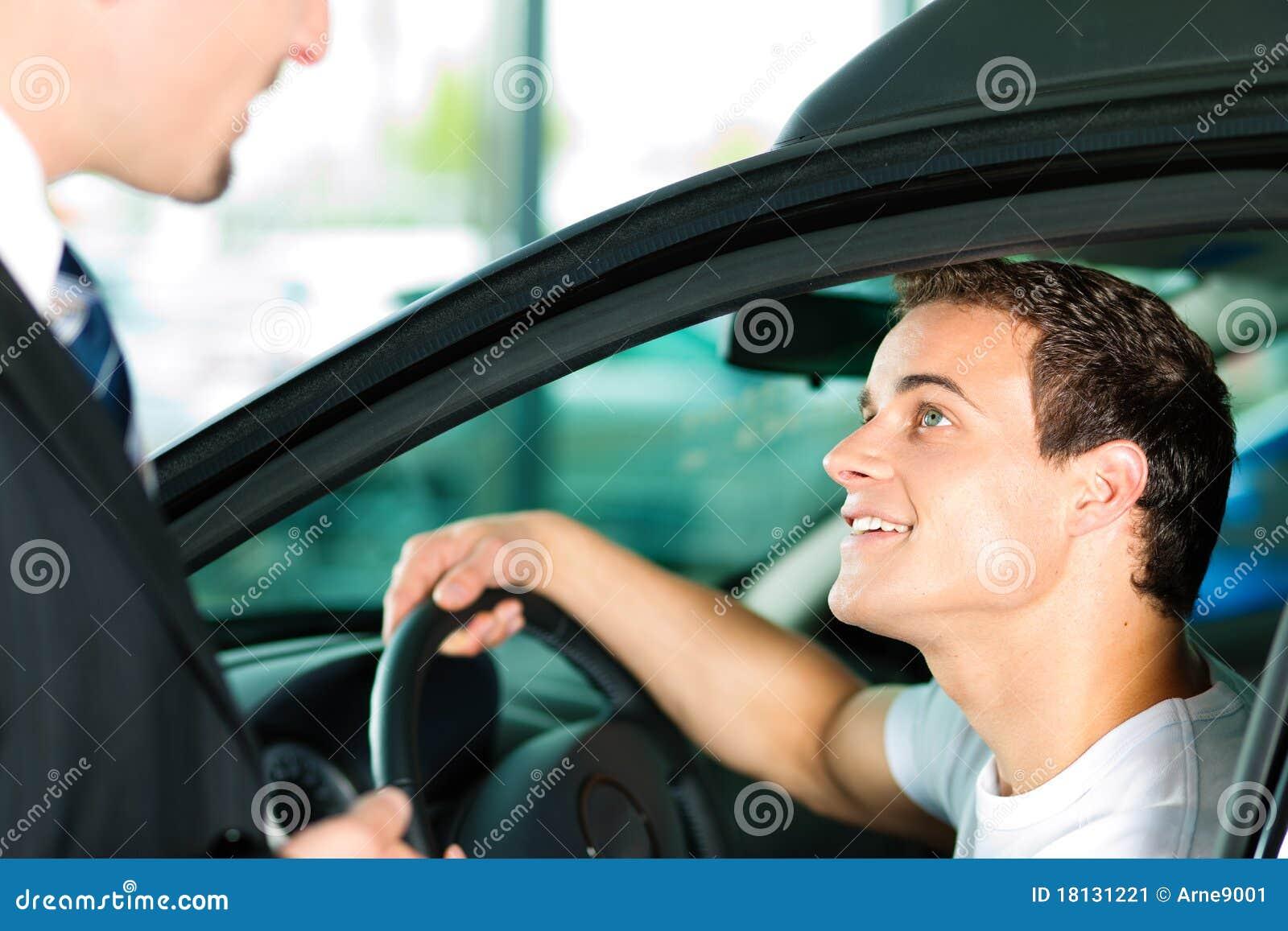 man buying car from salespersonv stock image image 18131221. Black Bedroom Furniture Sets. Home Design Ideas