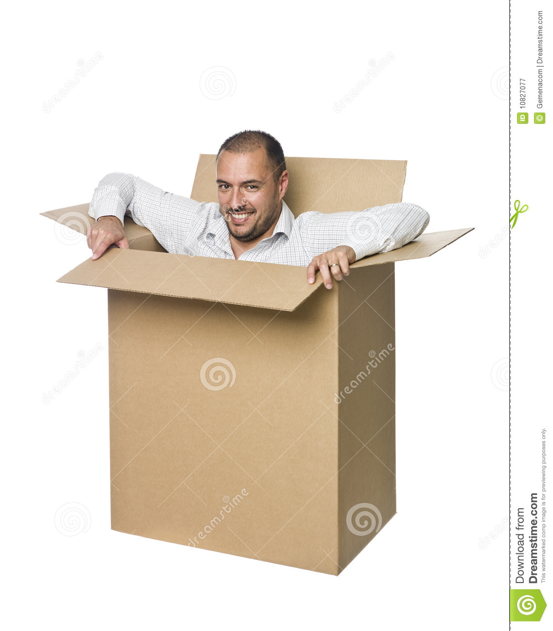 man in a cardboard box royalty free stock photography frustrated clipart frustrated clip art emoji