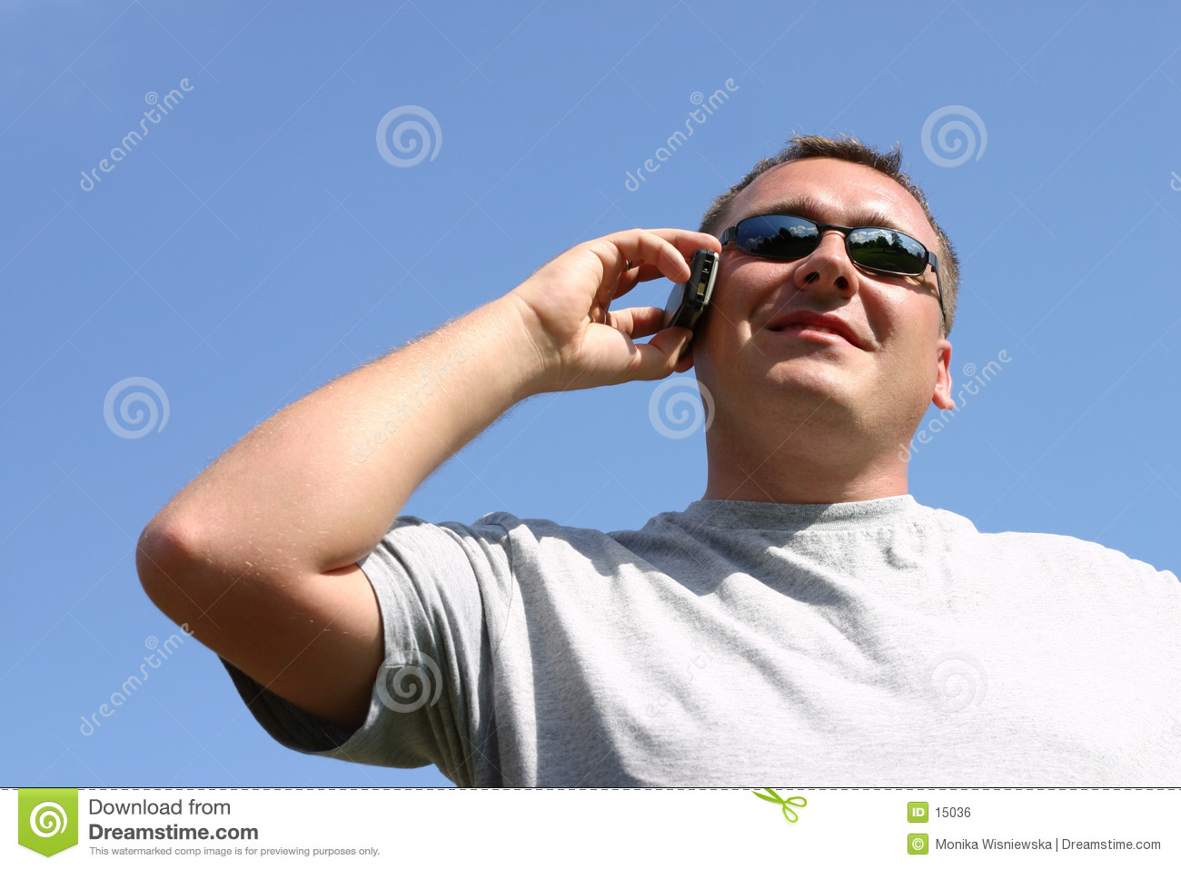 Man on the cellphone