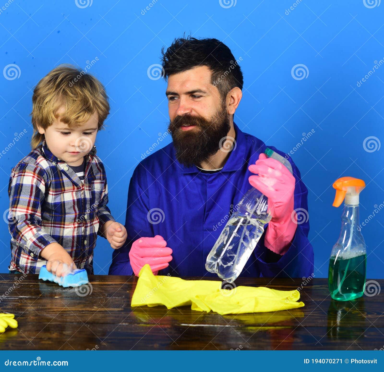 Blue Parent Man.