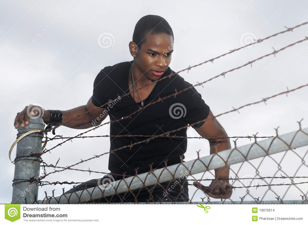 This Kids Parents Let Him Climb A Barbed-Wire Fence To Watch Soccer | The18