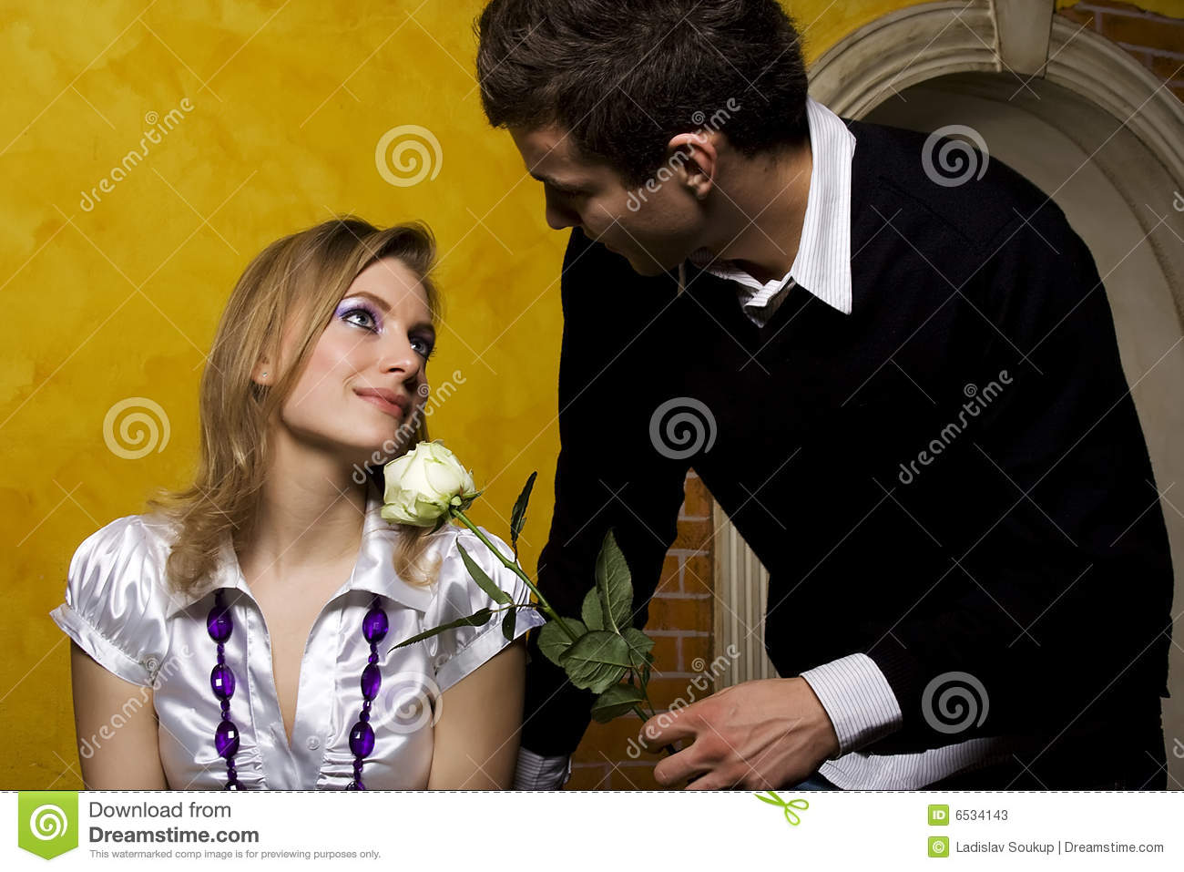 Dating guy with girlfriend