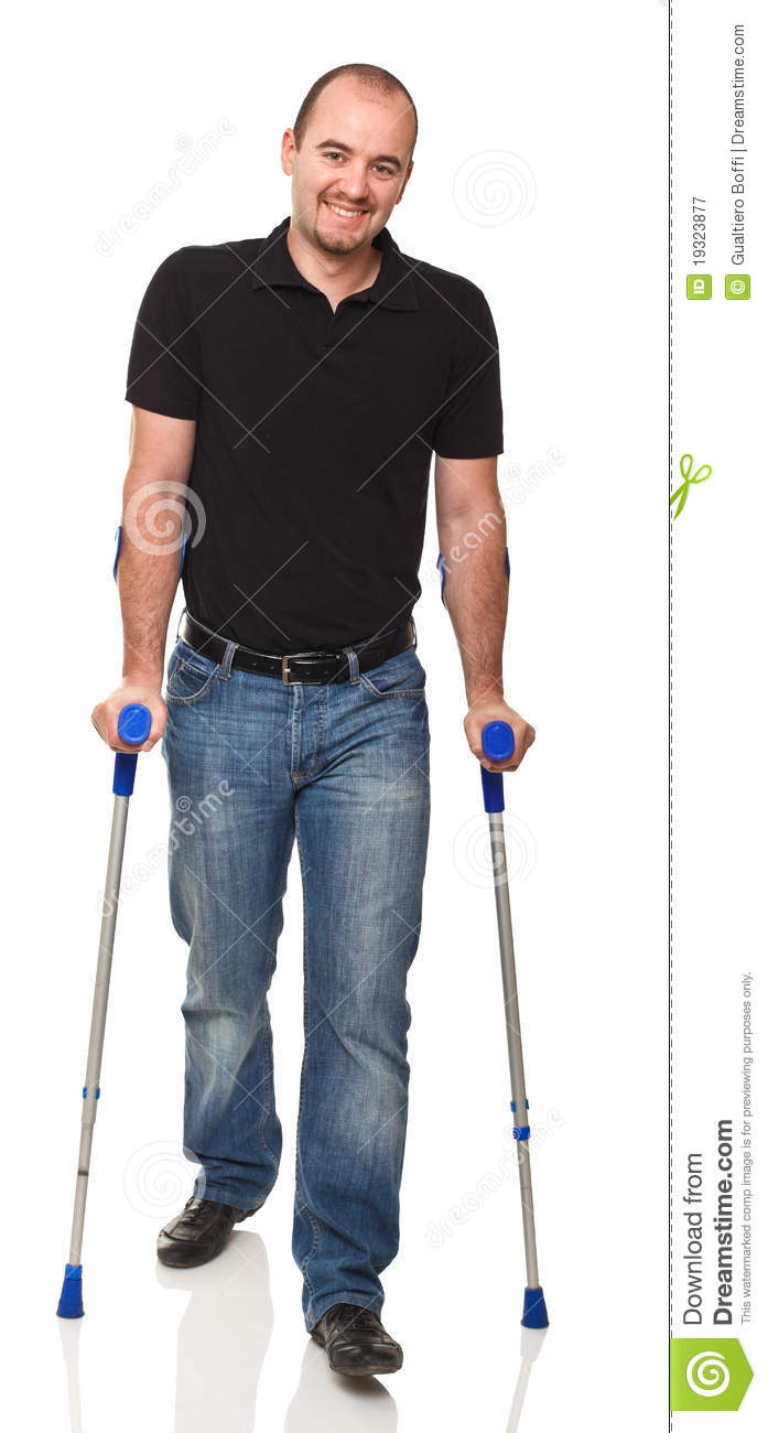 How to Walk on Crutches