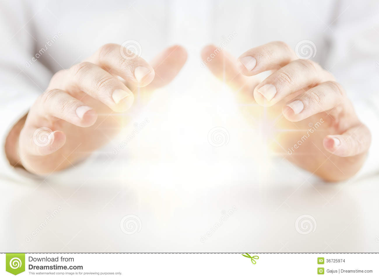 Man With A Crystal Ball Stock Images Image 36725974