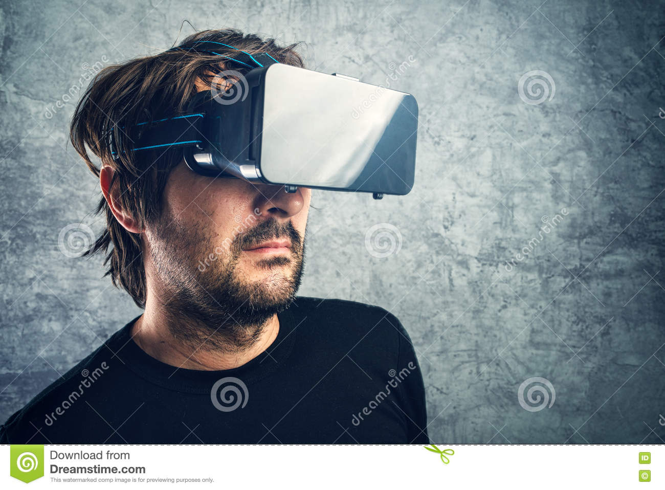 73df8288be8 Man 3d Vr Goggles Enjoying Virtual Reality Stock Images - Download 111  Royalty Free Photos