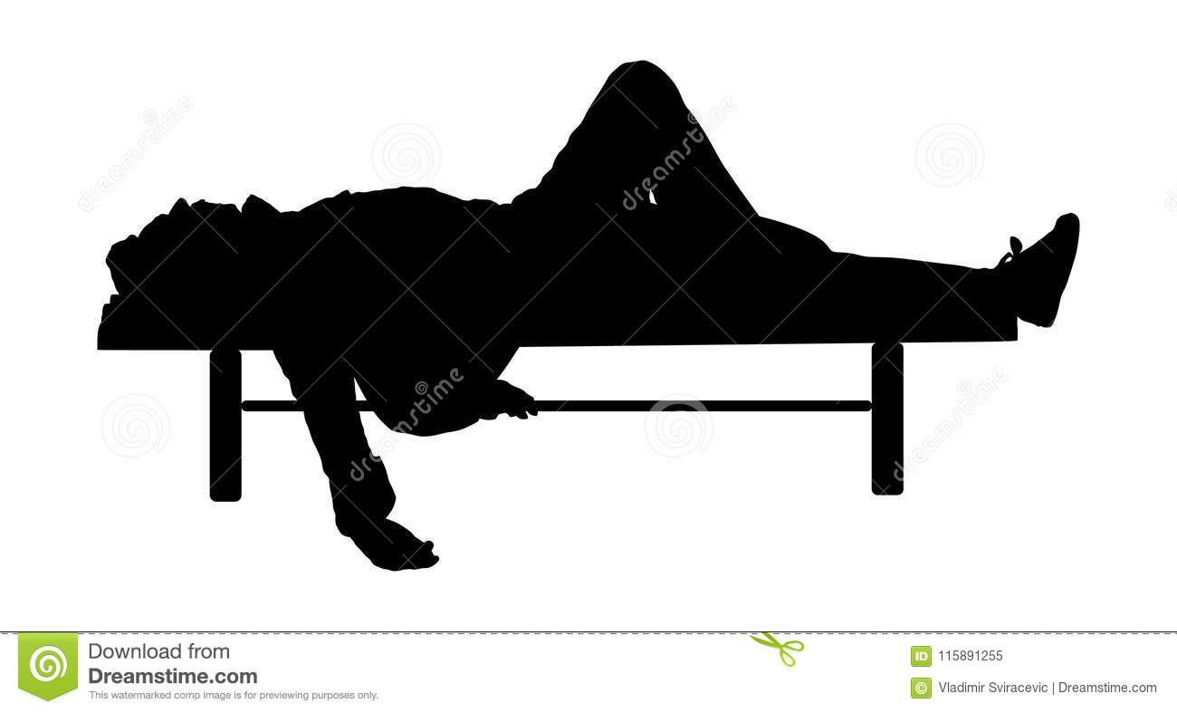 Prime Man Deeply Sleeping Or Drunk Laying Outdoors On A Wooden Ocoug Best Dining Table And Chair Ideas Images Ocougorg