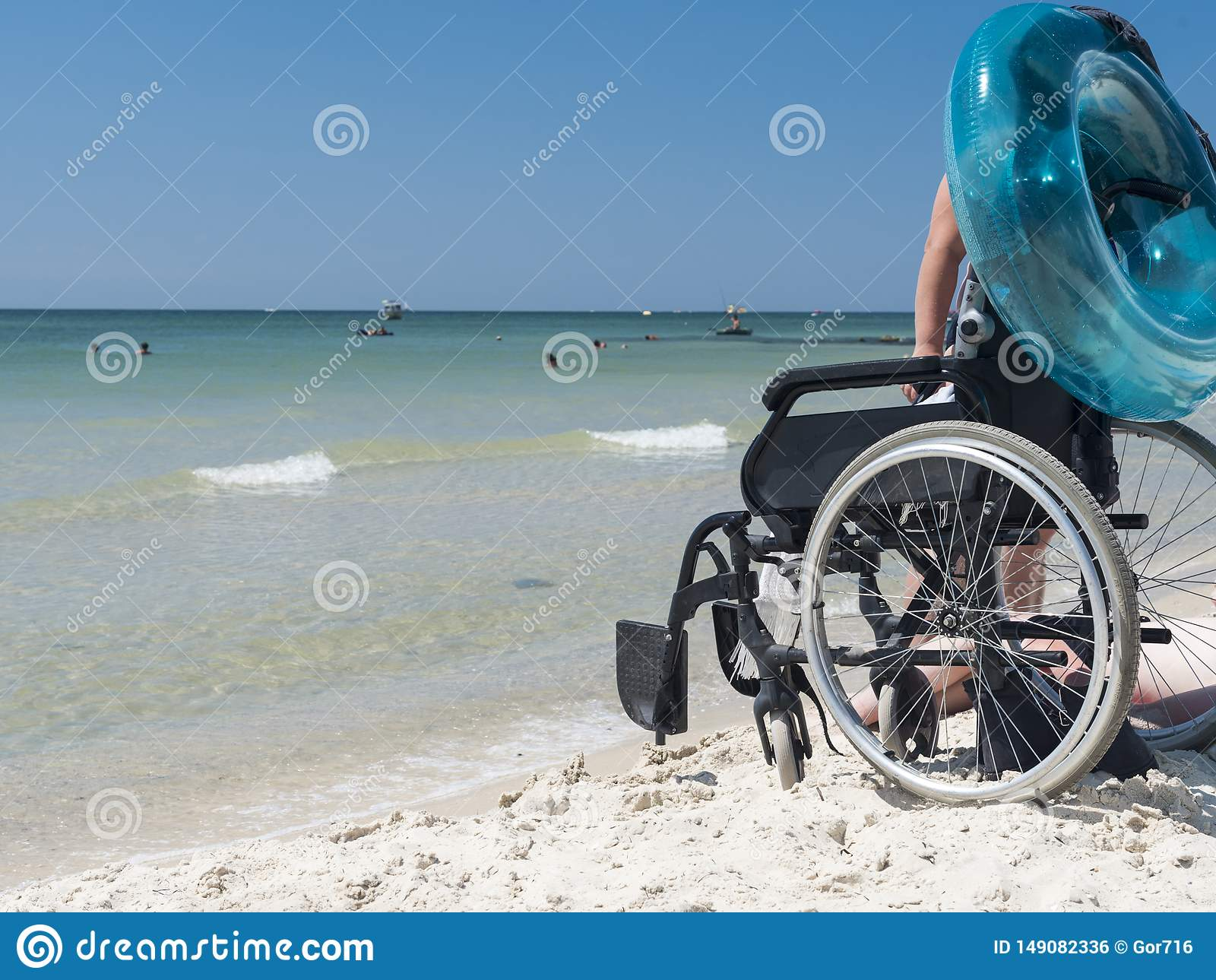 Man disabled on the Black Sea