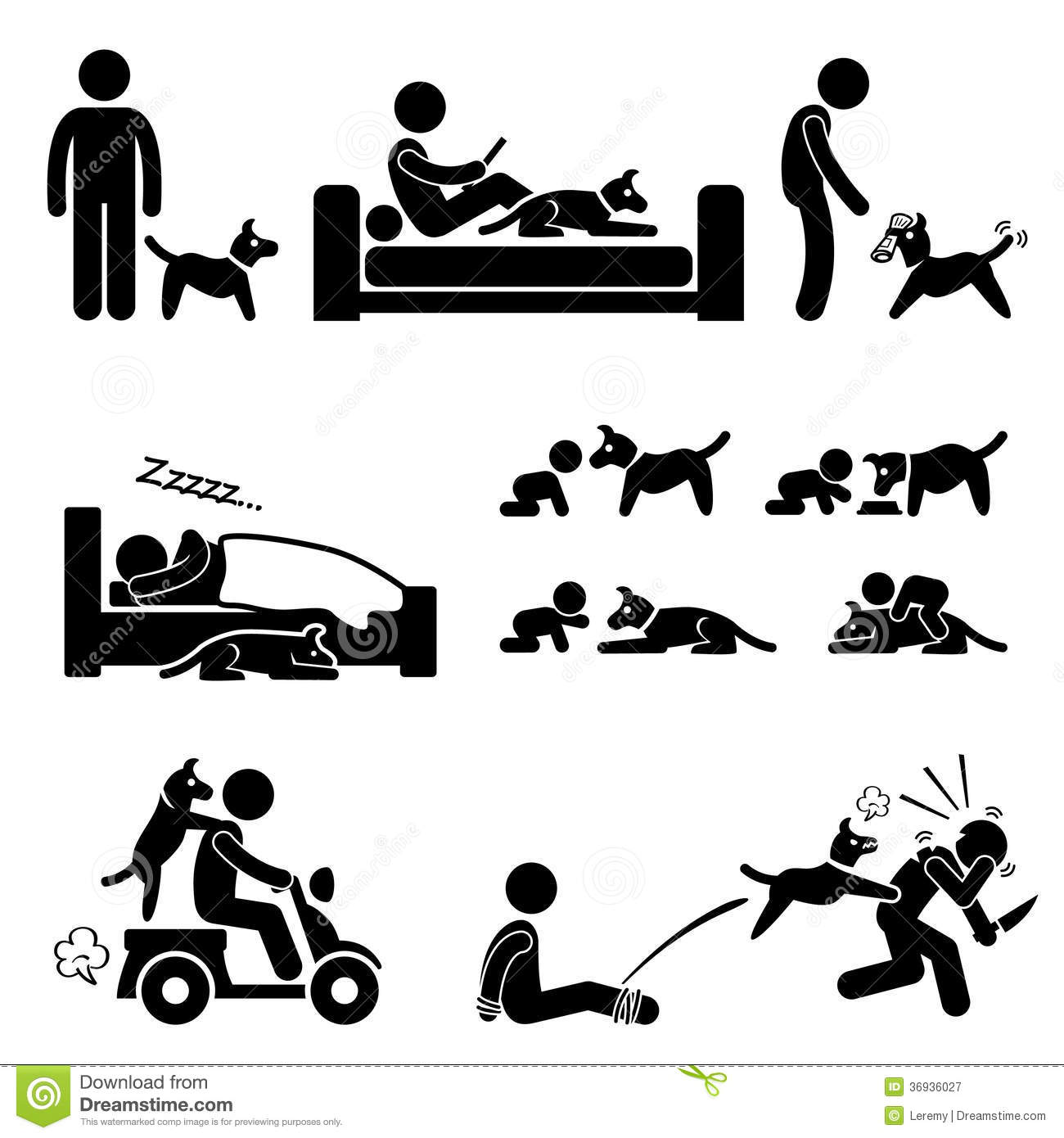 Man And Dog Relationship Pet Royalty Free Stock Photography - Image ...