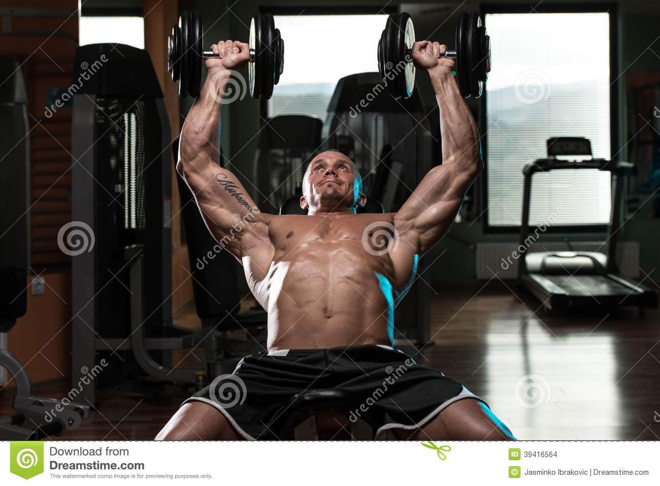 1300 x 958 jpeg 130kB, Gym Dumbbell Workout With Photos Download | New ...