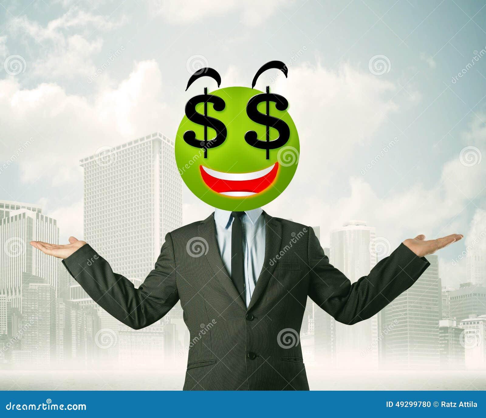 смайлик доллар: