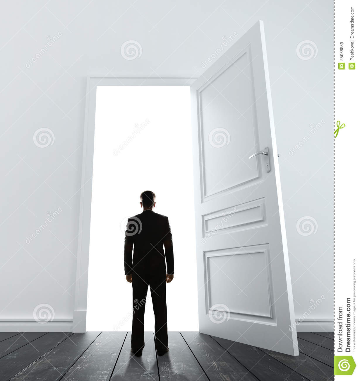 Man and door & Man and door stock image. Image of entrance opportunity - 35068859