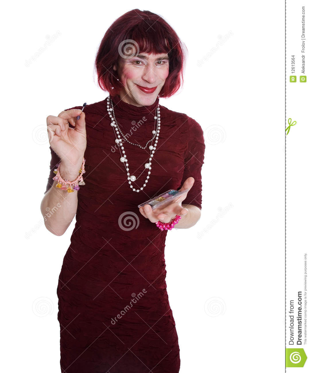 Men dressed as women pictures