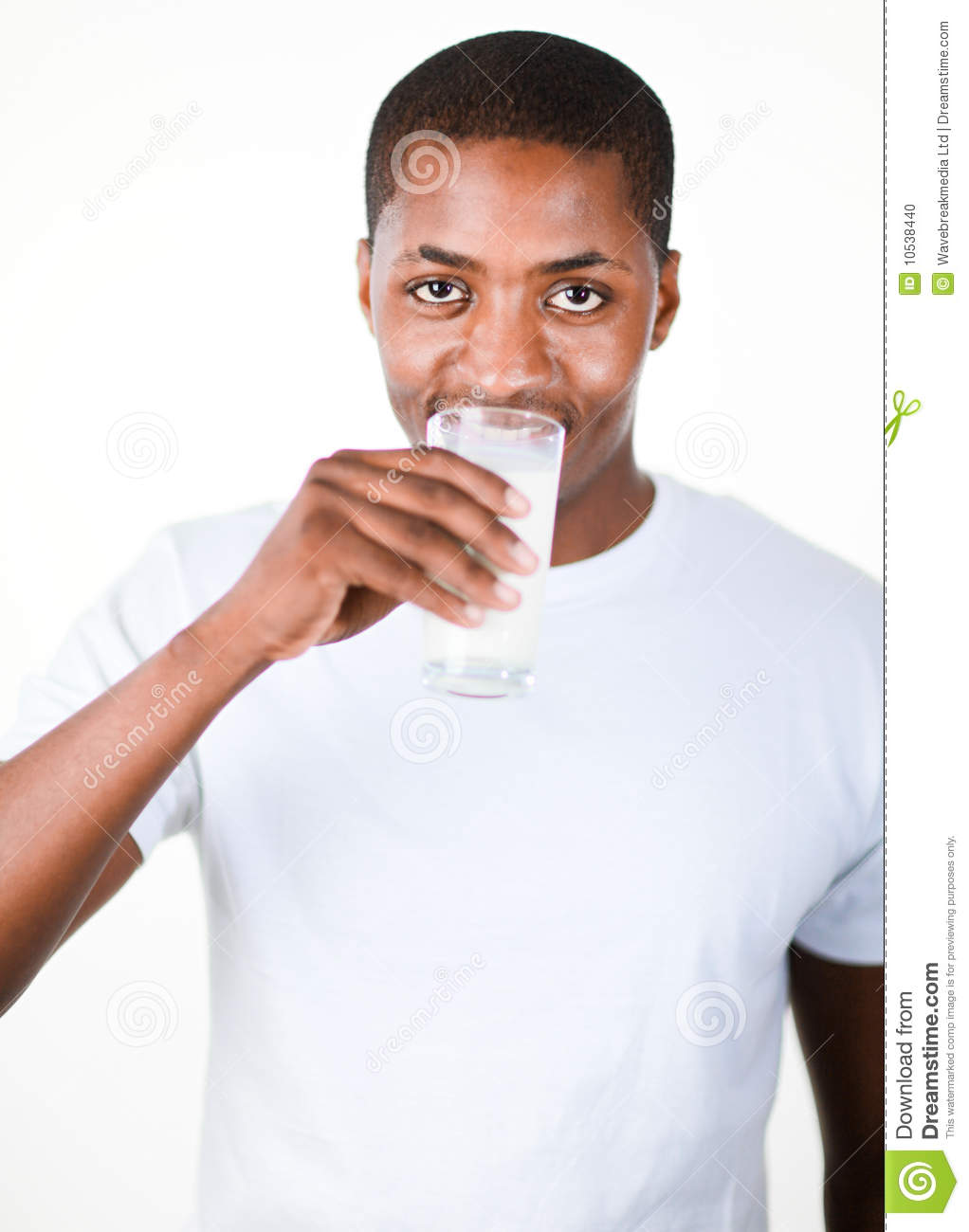 4226047f0efe Man Drinking A Glass Of Milk Stock Photo - Image of drink, beverage ...